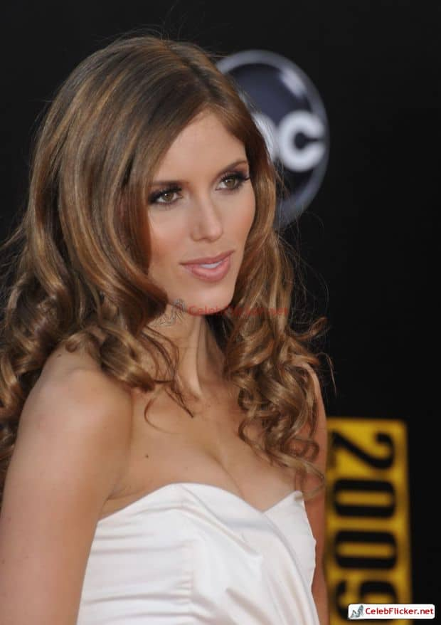 Kayla Ewell Awesome Look In White Outfit-002