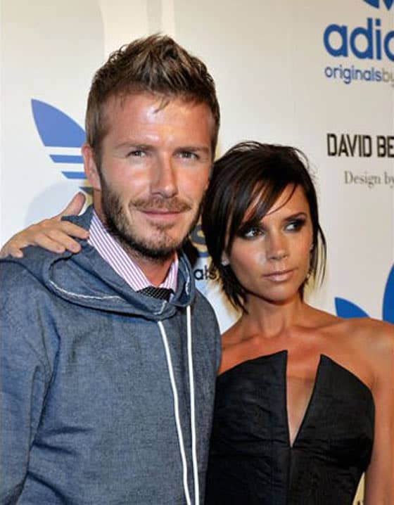 Top 5 Most Fashionable Couples Of The World In 2012 - David and Victoria Beckham