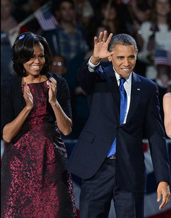 Top 5 Most Fashionable Couples Of The World In 2012 - Barack and Michelle Obama