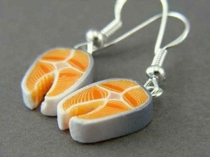 11 Funny Pendants and earrings in the form of food -04