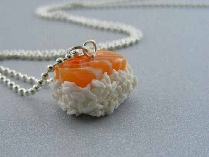 11 Funny Pendants and earrings in the form of food -07