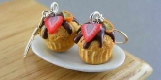 11 Funny Pendants and earrings in the form of food
