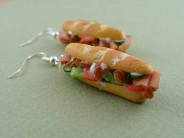 Funny Pendants and earrings in the form of food – Part 2 -21