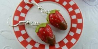 Funny Pendants and earrings in the form of food – Part 3
