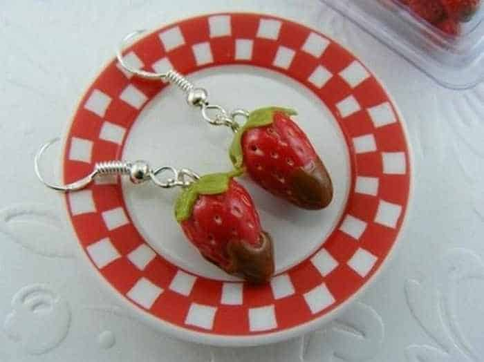 Funny Pendants and earrings in the form of food – Part 3 -31