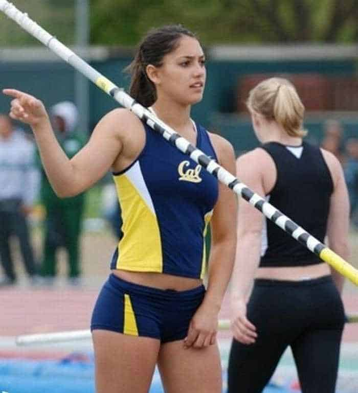 Hot Allison Stokke In Action - 18 Photos -08