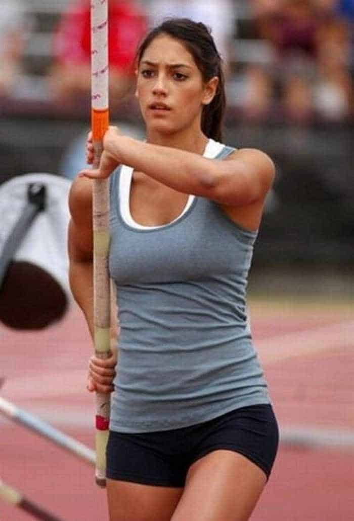 Hot Allison Stokke In Action - 18 Photos -09
