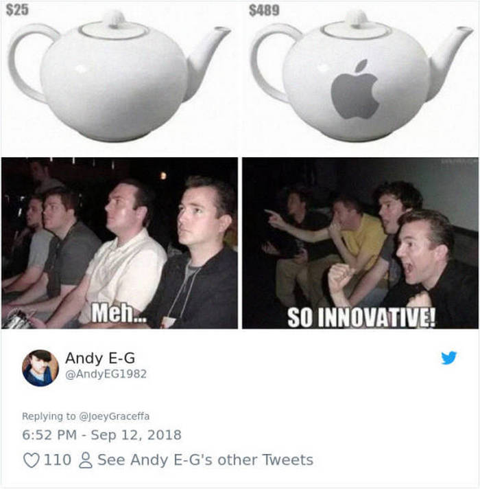 45 Best Apple Memes For All The iPhone Haters-19
