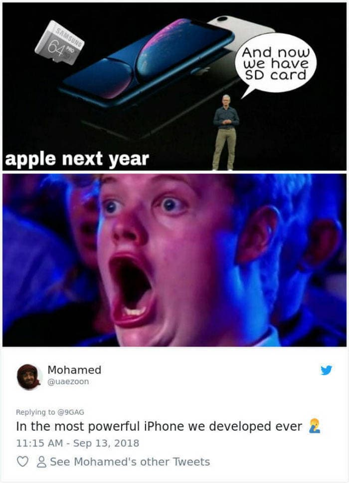45 Best Apple Memes For All The iPhone Haters-39