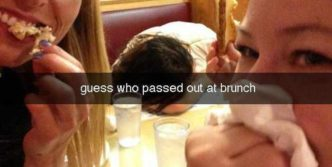 12 Awkward Hangover Snapchat Photos Of The Day