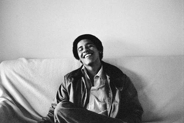 Barack Hussein Obama Rare Young Photos -02