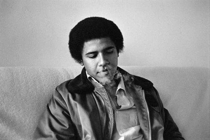 Barack Hussein Obama Rare Young Photos -04