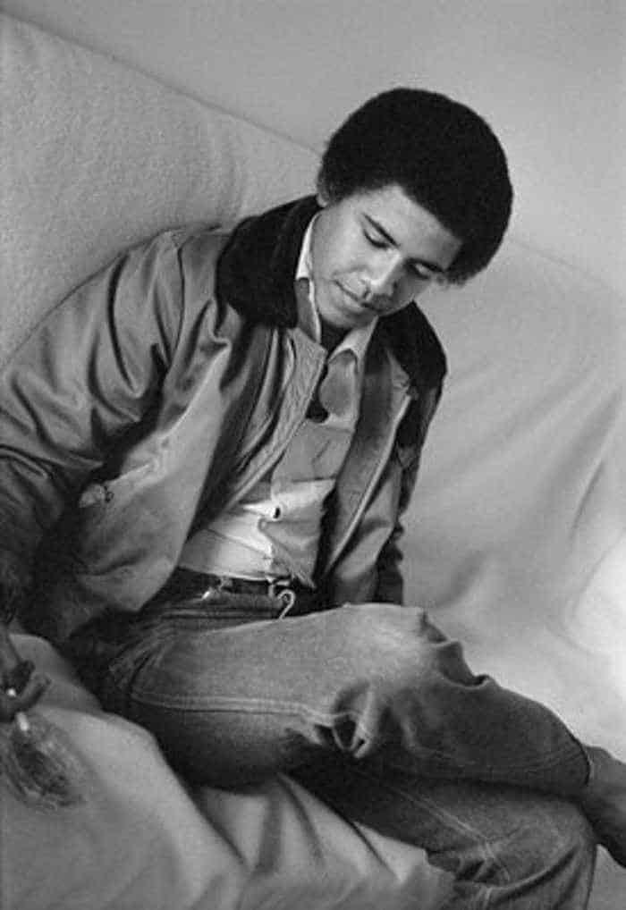 Barack Hussein Obama Rare Young Photos -05