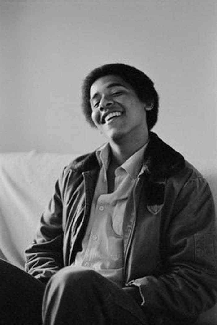 Barack Hussein Obama Rare Young Photos -07