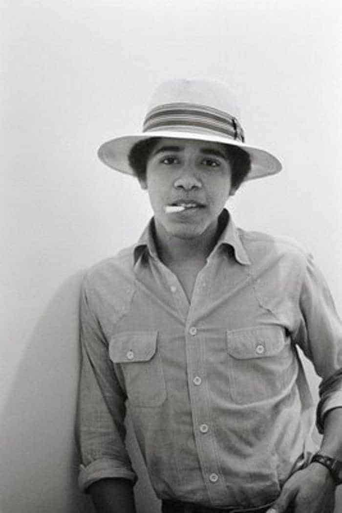 Barack Hussein Obama Rare Young Photos -09