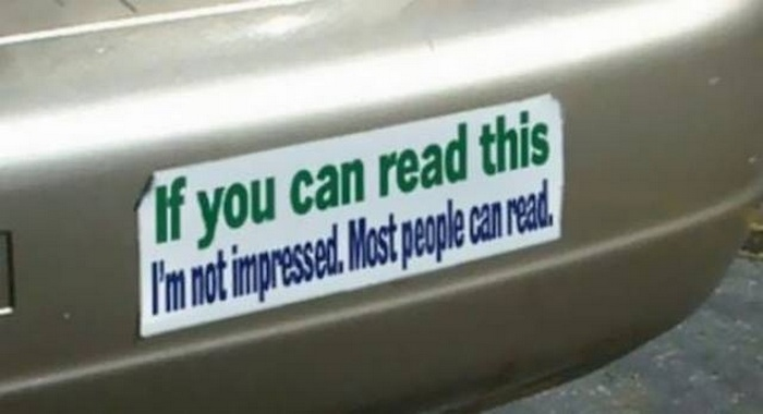 31 Best Funny Car Stickers That Will Make You LOL-01