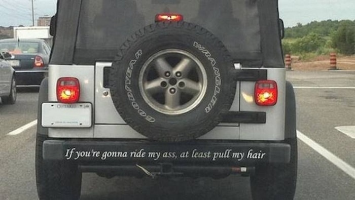 31 Best Funny Car Stickers That Will Make You LOL-09