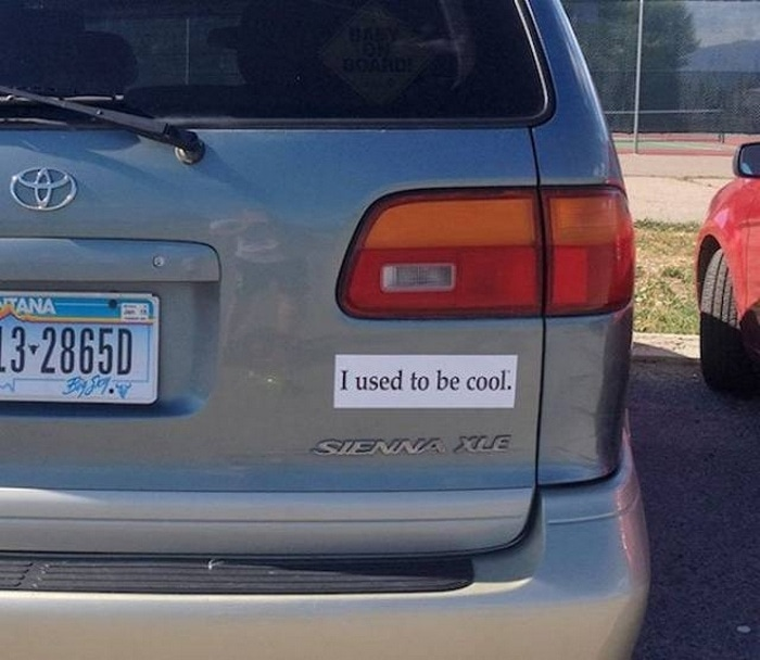 31 Best Funny Car Stickers That Will Make You LOL-17