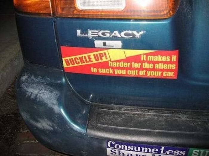 31 Best Funny Car Stickers That Will Make You LOL-22