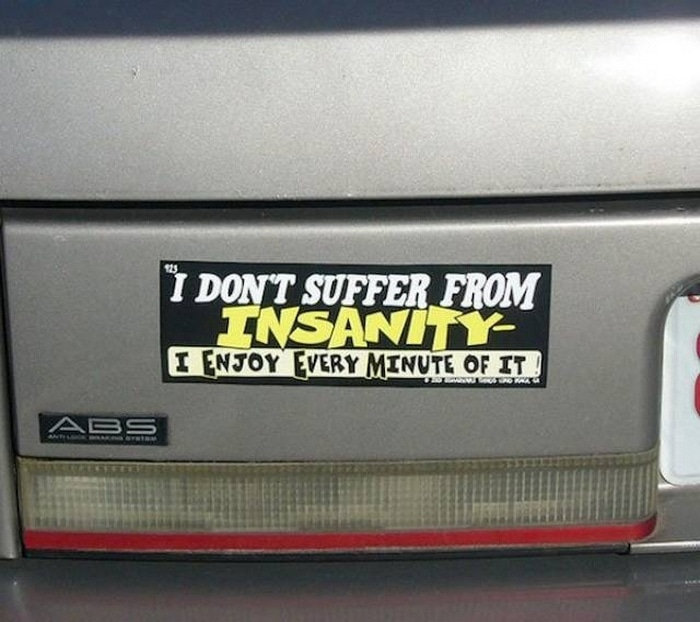 31 Best Funny Car Stickers That Will Make You LOL-23
