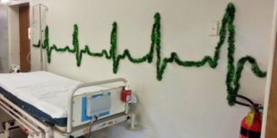 24 Best Hospital Christmas Decorations That Proves Medical Staff Have Good Sense Of Humor