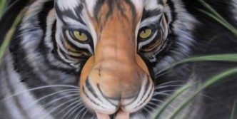 Incredible Tiger Body Art by Craig Tracy – 6 Pics