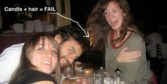 Candle Light Dinner Fail Picture Will Shock You