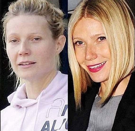 46 Pics of Weird Looks Of Celebrities With And Without Makeup -03