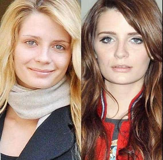 46 Pics of Weird Looks Of Celebrities With And Without Makeup -04