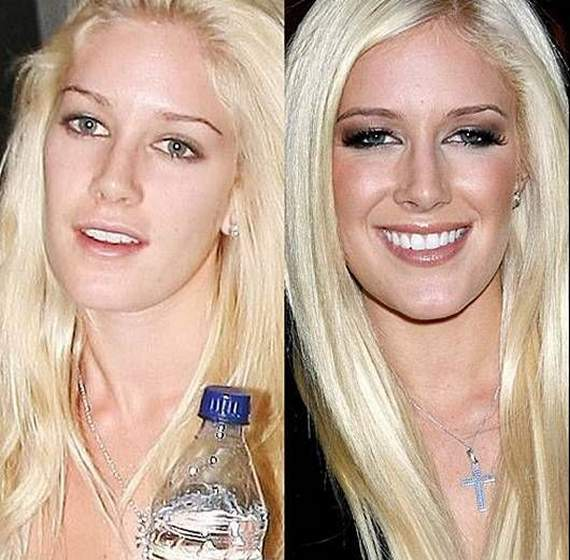 46 Pics of Weird Looks Of Celebrities With And Without Makeup -05