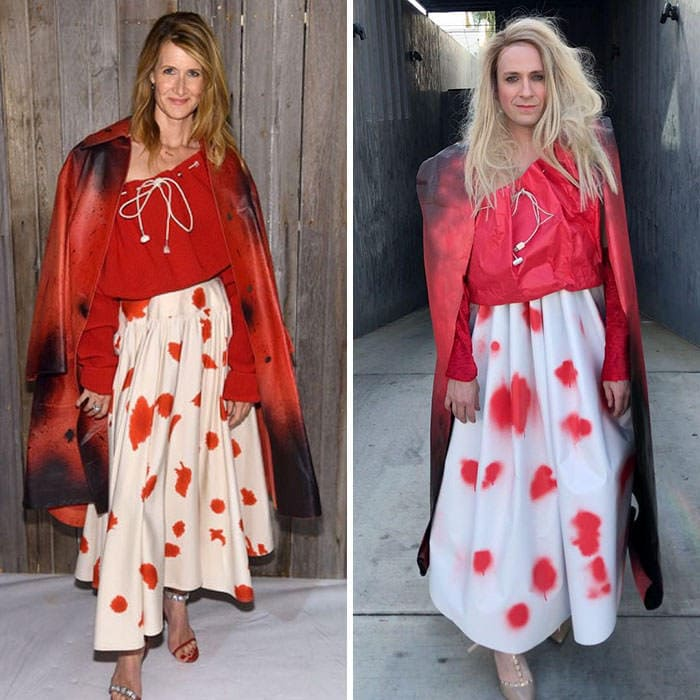 60+ Times Hilariously Celebrity Outfits Recreated By Former 'Buffy' Star-24