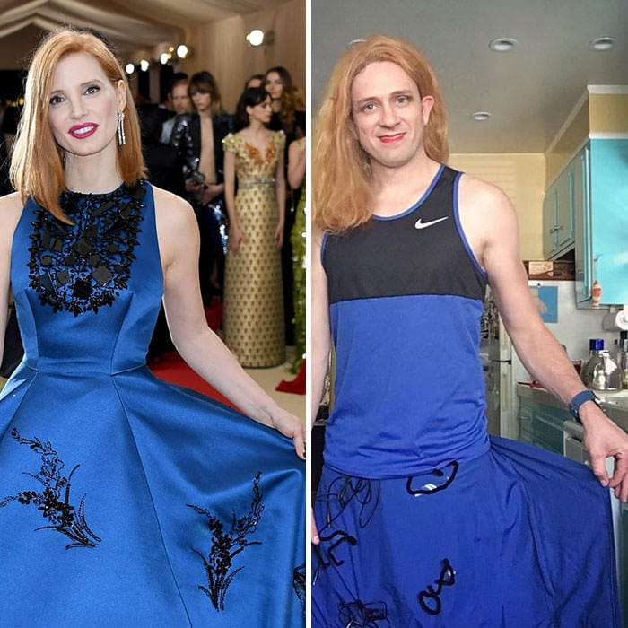 60+ Times Hilariously Celebrity Outfits Recreated By Former 'Buffy' Star-36