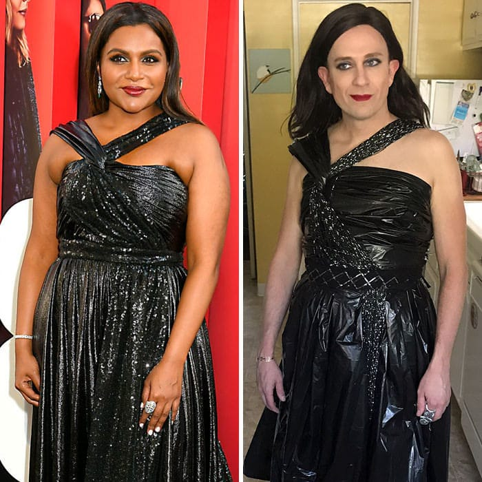 60+ Times Hilariously Celebrity Outfits Recreated By Former 'Buffy' Star-51