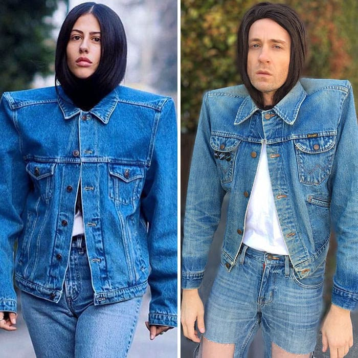 60+ Times Hilariously Celebrity Outfits Recreated By Former 'Buffy' Star-52