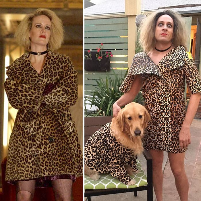 60+ Times Hilariously Celebrity Outfits Recreated By Former 'Buffy' Star-60