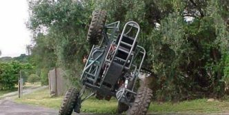 Unusual Chainlink 4×4 Car That You Never Seen Before