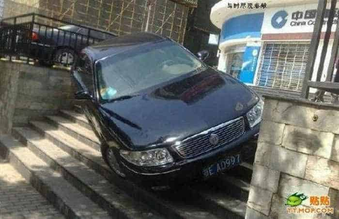Meanwhile Epic Fail Car Parking In China -02
