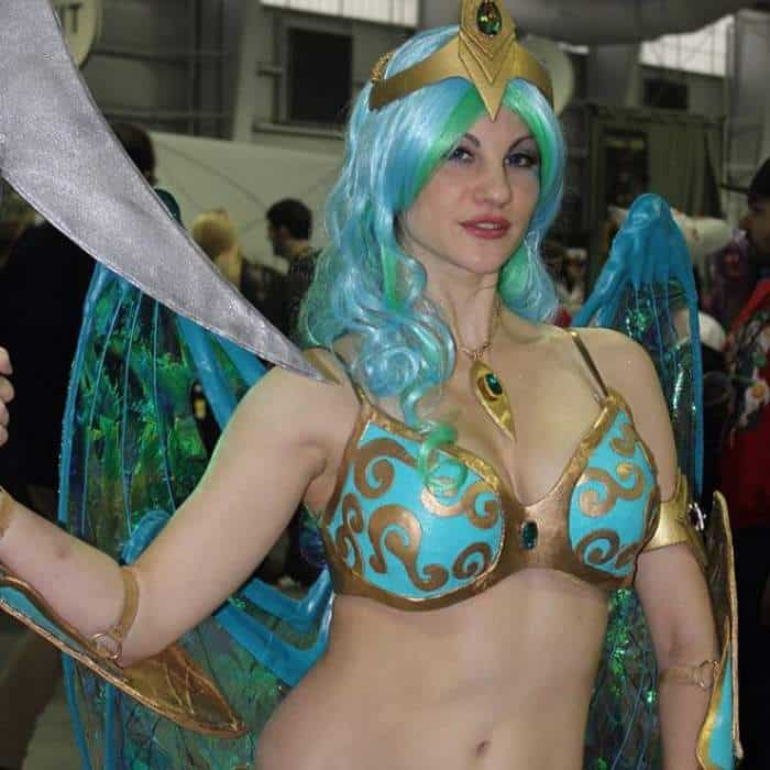 Cosplay Girls From New York ComicCon 2014 -01