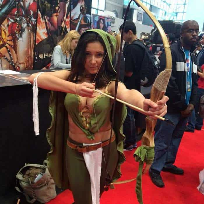63 Funniest Cosplay Girls from New York Comic Con 2014 -55