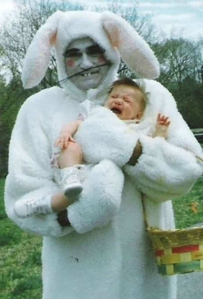 60 Scary Easter Bunny Pictures That Will Give You Nightmares -06