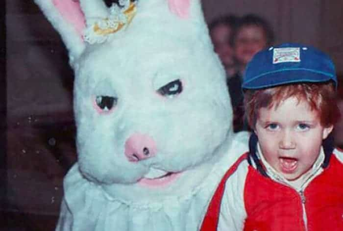 60 Scary Easter Bunny Pictures That Will Give You Nightmares -11