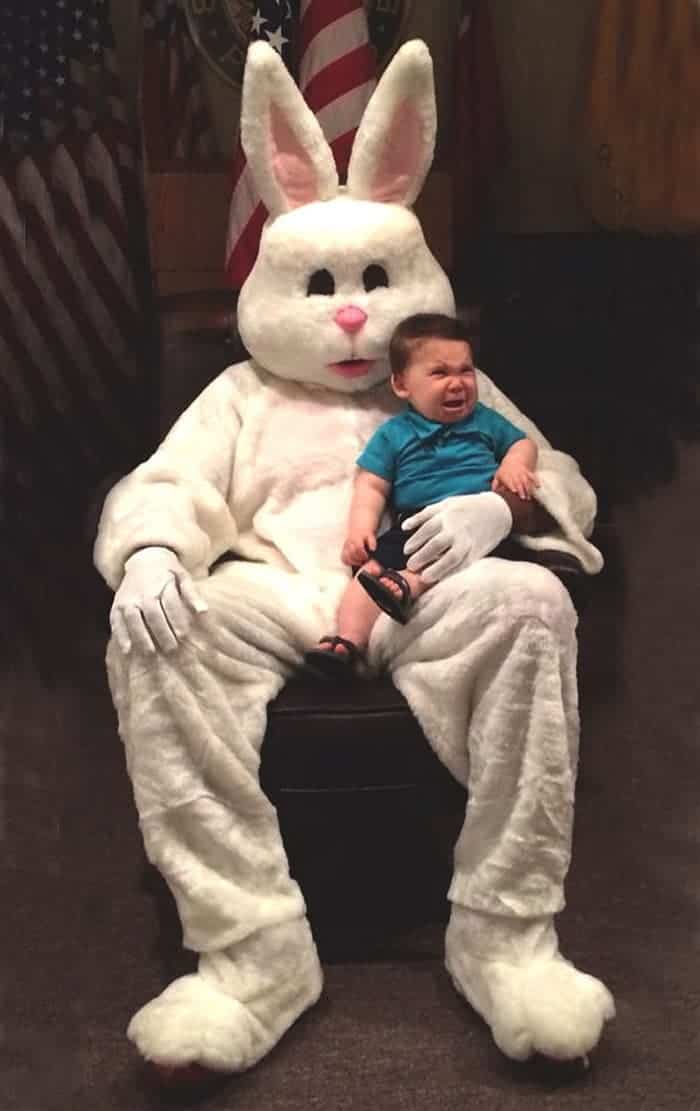 60 Scary Easter Bunny Pictures That Will Give You Nightmares -13