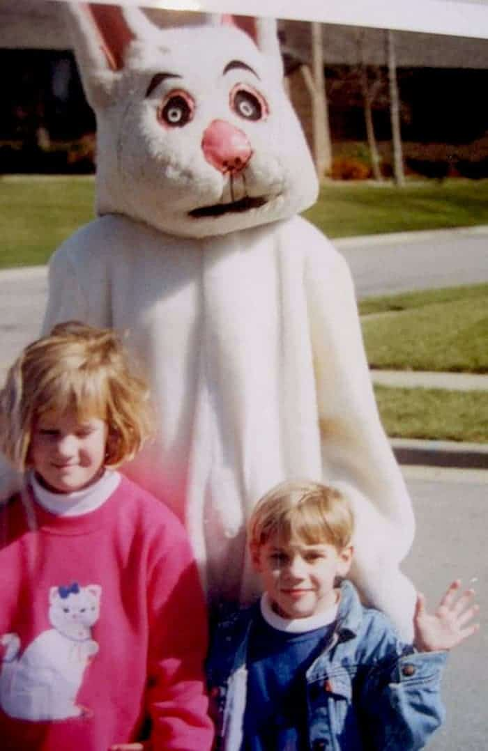 60 Scary Easter Bunny Pictures That Will Give You Nightmares -22