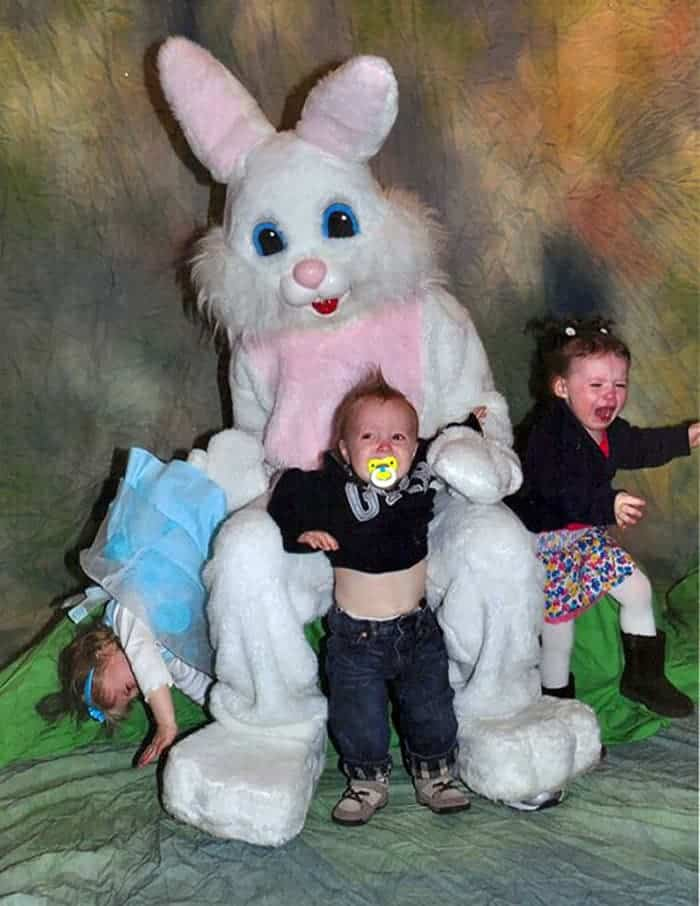 60 Scary Easter Bunny Pictures That Will Give You Nightmares -32