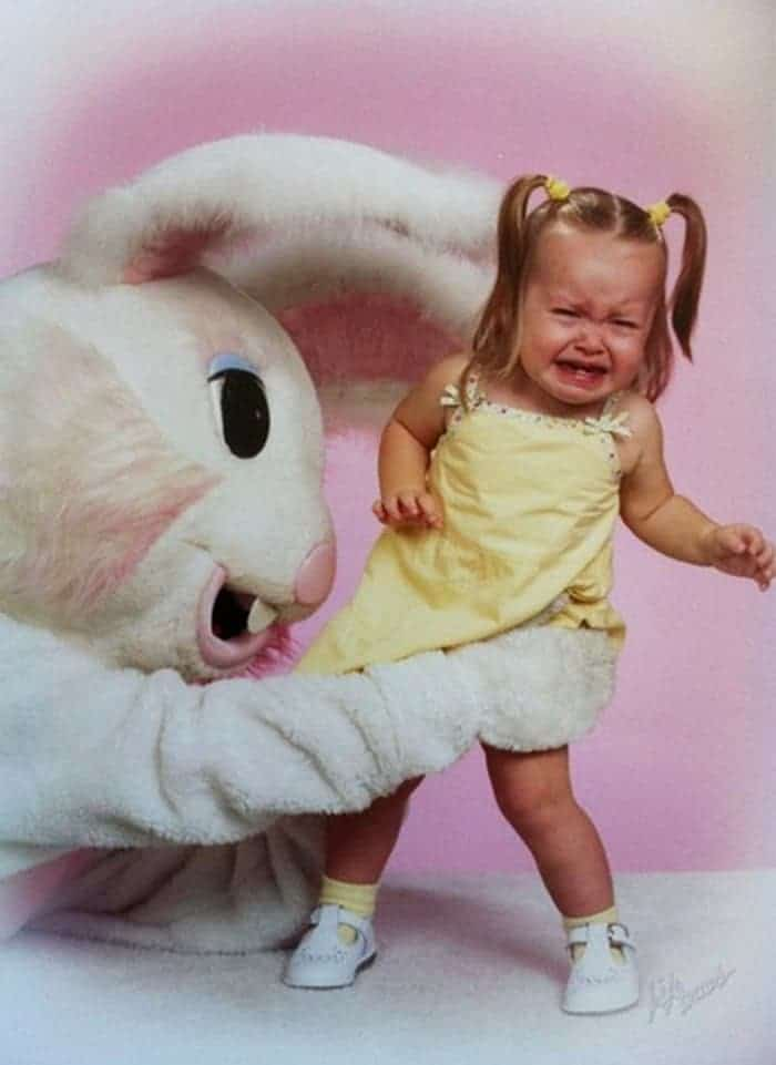 60 Scary Easter Bunny Pictures That Will Give You Nightmares -42