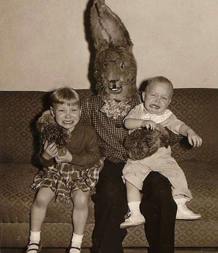 60 Scary Easter Bunny Pictures That Will Give You Nightmares -47