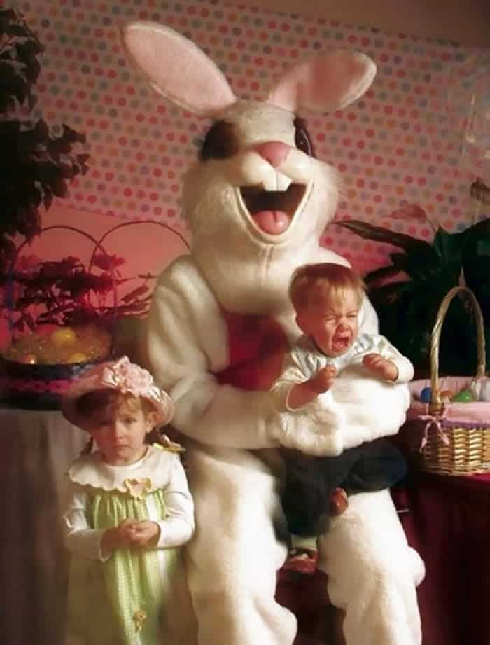 60 Scary Easter Bunny Pictures That Will Give You Nightmares -48