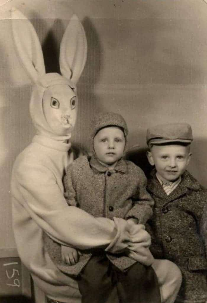 60 Scary Easter Bunny Pictures That Will Give You Nightmares -53