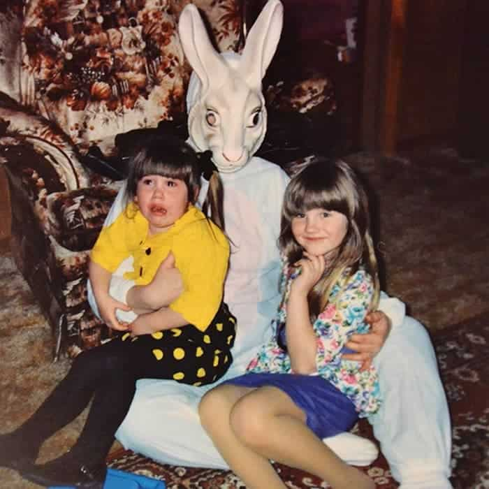 60 Scary Easter Bunny Pictures That Will Give You Nightmares -60
