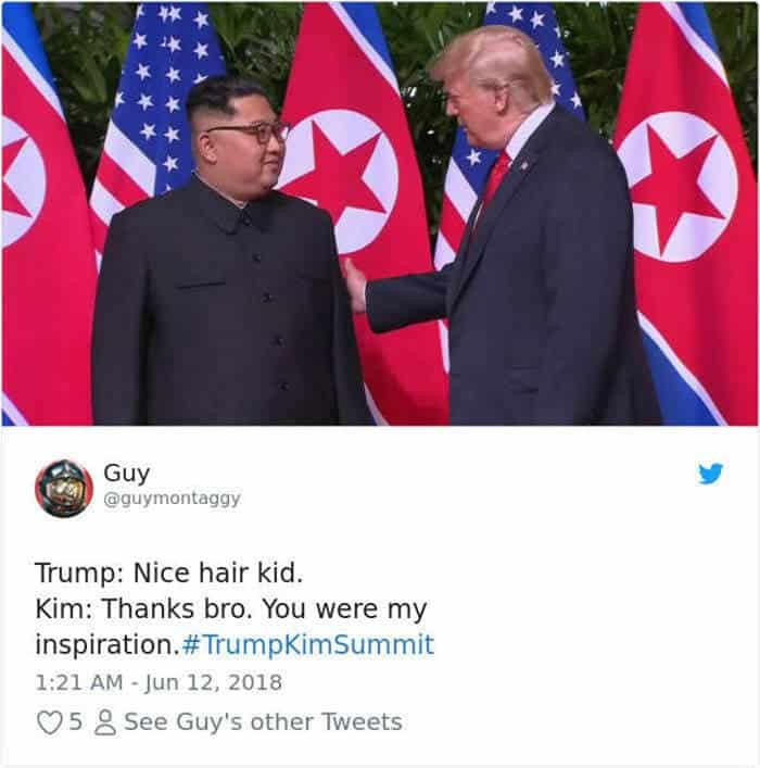 55 Hilarious Donald Trump Kim Jong Un Memes, Tweets to Make Your Day -14